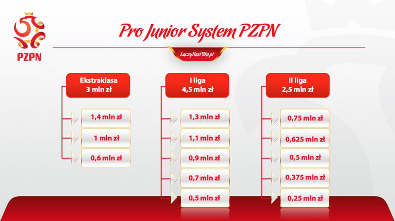 Nagrody finansowe w systemie Pro System Junior