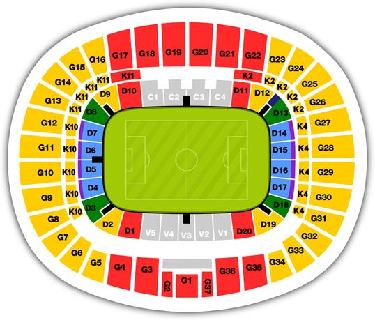schemat Stadionu Narodowego